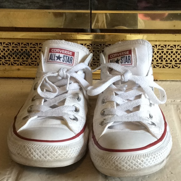 97811c69471d Converse Shoes - White converse - used but Good condition